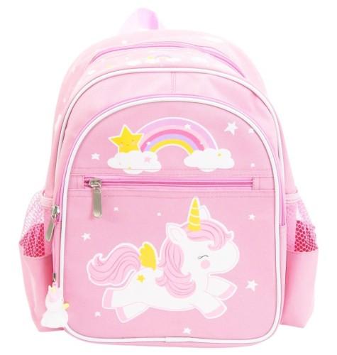 34173656881ed A Little Lovely Company Plecak z jednorożcem różowy z zawieszką ...